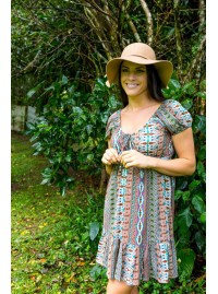 Elan Dress – Inca Print