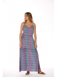 Clarissa Strappy Maxi Dress - Sol BluePrint