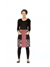Trish  A line Cotton Skirt - Fuji and Soda Prints