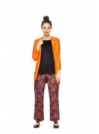 Viv Viscose Cardigan- Orange