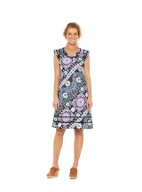 Cassy Cotton Braid Dress Quant Print