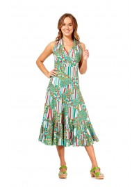 Polly Dress - Brighton Print
