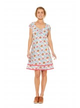 Gabi Cotton Dress Starflower Print