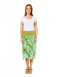 Dita Cotton Voile  Skirt – Nerita Print