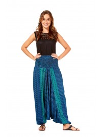 Bahamas Aladdin Pants - Wear 3 Ways  - Bhutti  Print