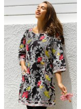 Connie L/S Dress - Nikko Print