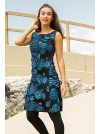 Camden Tunic in Akash  Print