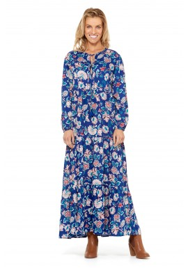Afghan Dress – Amalfi Print