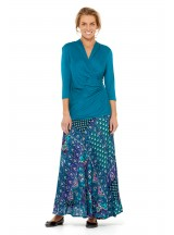 Phyllis Top - Teal Viscose