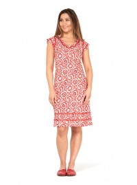 Cassy Cotton Braid Bloom Print