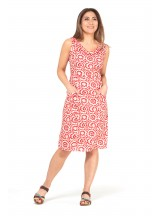 Betty Dress with pockets - Bloom Print