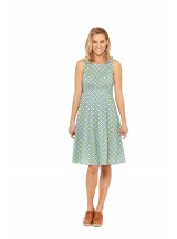 Jude Cotton 50's  A Line Dress -  Joni  Print