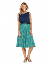 Beth Cotton Wrap Skirt – Creation Print