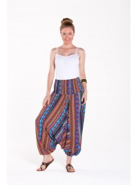 Bahamas Aladdin Pants - Panel Print
