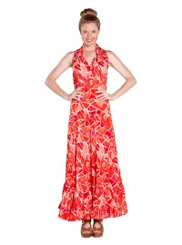 Holly Maxi Dress - Picasso Print